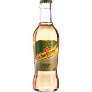Schweppes Ginger Ale, 0.2L Bottle, 24pcs