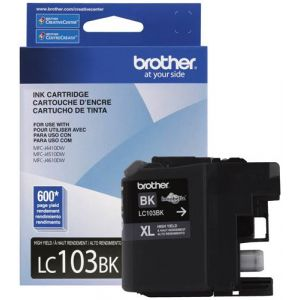 LC103BK Brother XL Ink Cartridge, Black