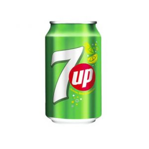 Seven Up, 0.33L Can, 24pcs, Tray
