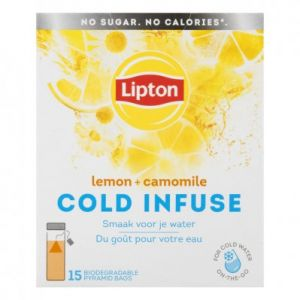 Lipton Cold Infuse Lemon and Camomile, 15pcs