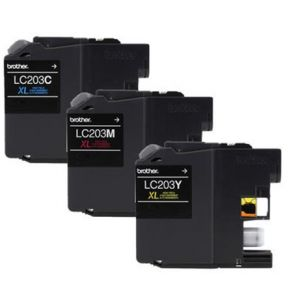 Brother LC201CL Color Ink Cartridge (3x) for Brother MFC J880DW