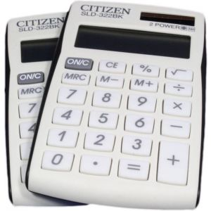 Calculator Citizin SID 322bk