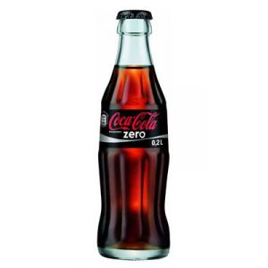 Coca Cola Zero, 20cL Bottle, 24pcs, Crate