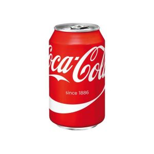 Coca Cola, 0.33L Can, 24pcs, Tray