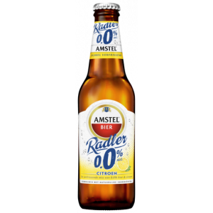 Amstel Radler Lemon 0.0, 30cl Bottle, 24pcs