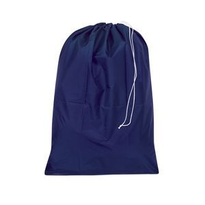 "Water resistant laundry bag 30"" x 40"" Blue"
