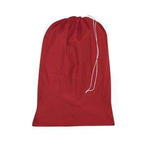 "Water resistant laundry bag 30"" x 40"" Red"