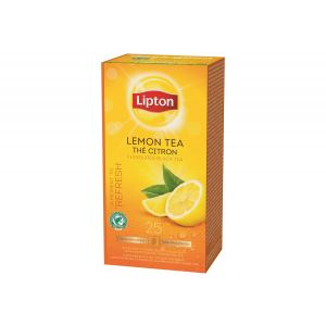 Lipton Prof. Lemon Tea, 25pcs