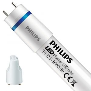 Philips LED tube, 220V, 120cm, incl. starter, per piece