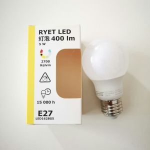 IKEA, RYET LED 220V, E27, 2700k, light bulb