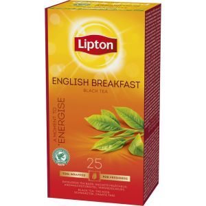 Lipton Prof. English Breakfast Tea, 25pcs